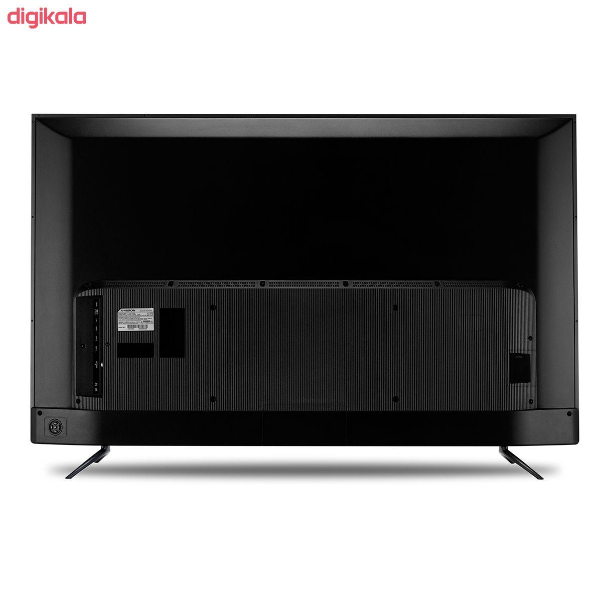 تلویزیون ال ای دی هوشمند ایکس ویژن مدل 55XTU745 سایز 55 اینچ main 1 5