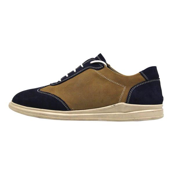 کفش روزمره زنانه چرم آرا مدل sh044 کد 12