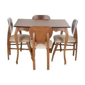 میز و صندلی ناهارخوری مدل فیلی کد 10024