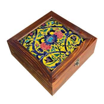 جعبه هدیه چوبی مدل   DG42