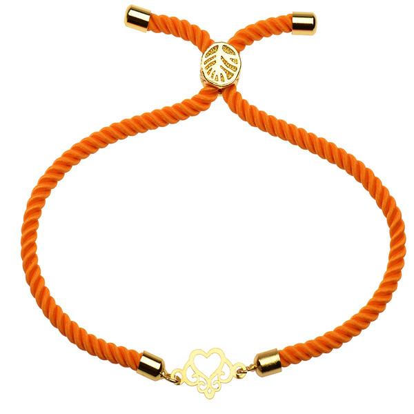 دستبند طلا 18 عیار دخترانه کرابو مدل Krd1113