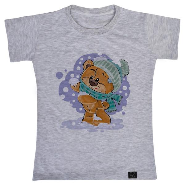 تی شرت پسرانه 27 طرح خرس کد V13