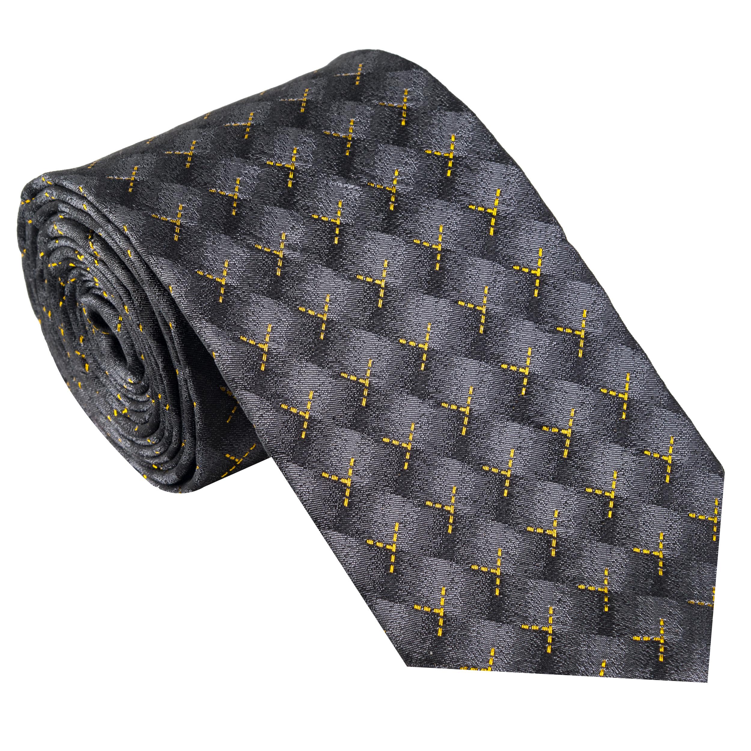 کراوات مردانه جیان فرانکو روسی مدل GF-ST507-GR