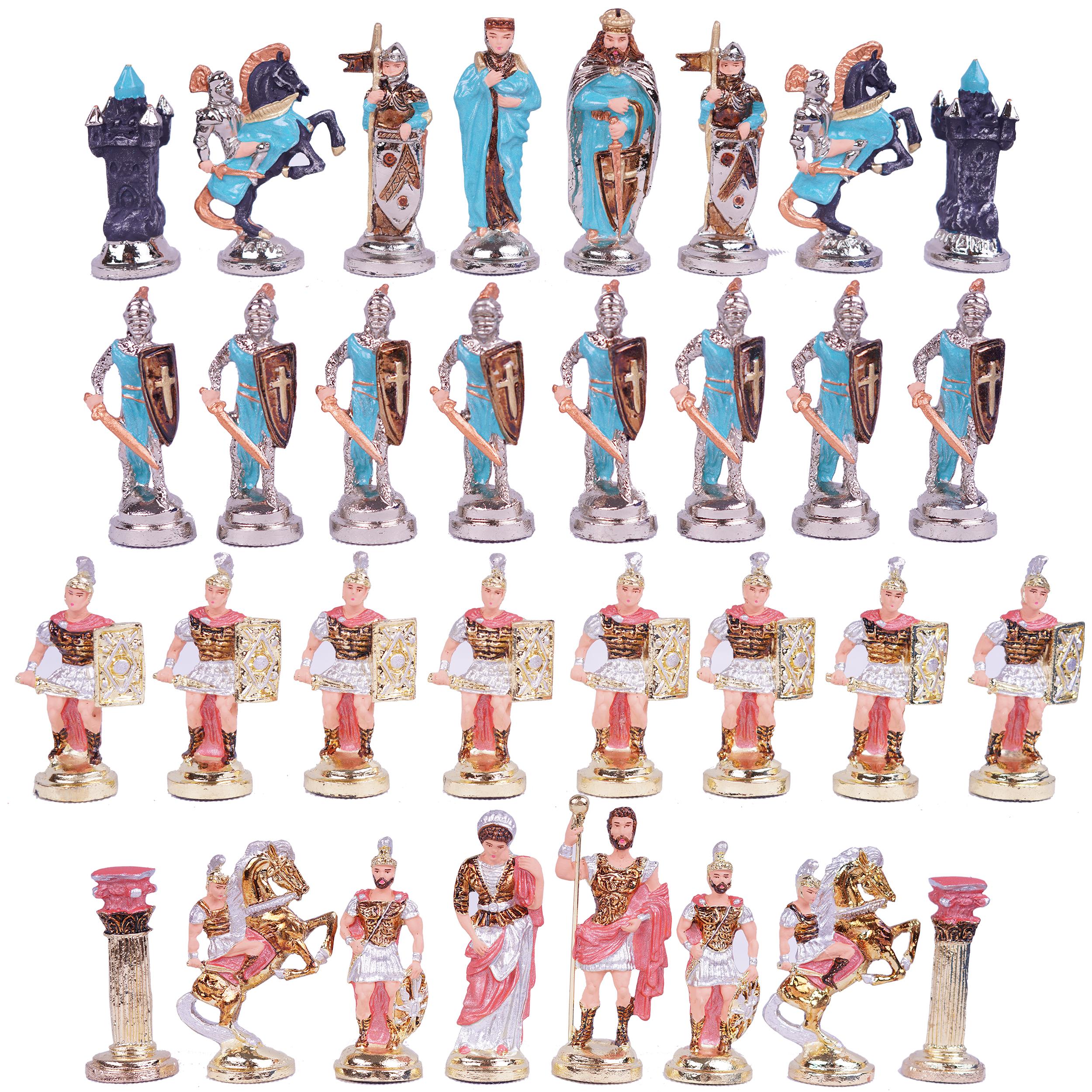 مهره شطرنج مدل هخامنشی کد 37مجموعه ۳۲ عددی