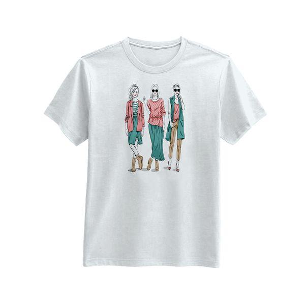 تی شرت آستین کوتاه زنانه یاسر مدل stz051