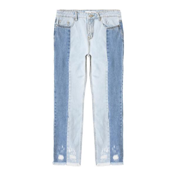 شلوار جین زنانه استرادیواریوس مدل SV-1466230700