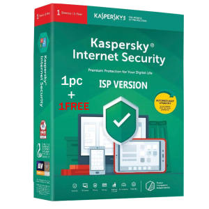 آنتی ویروس کسپرسکی 2021 نسخه اینترنت سیکوریتی 1+1 کاربر 1 ساله