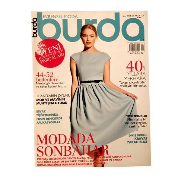 مجله burda آگوست 2012