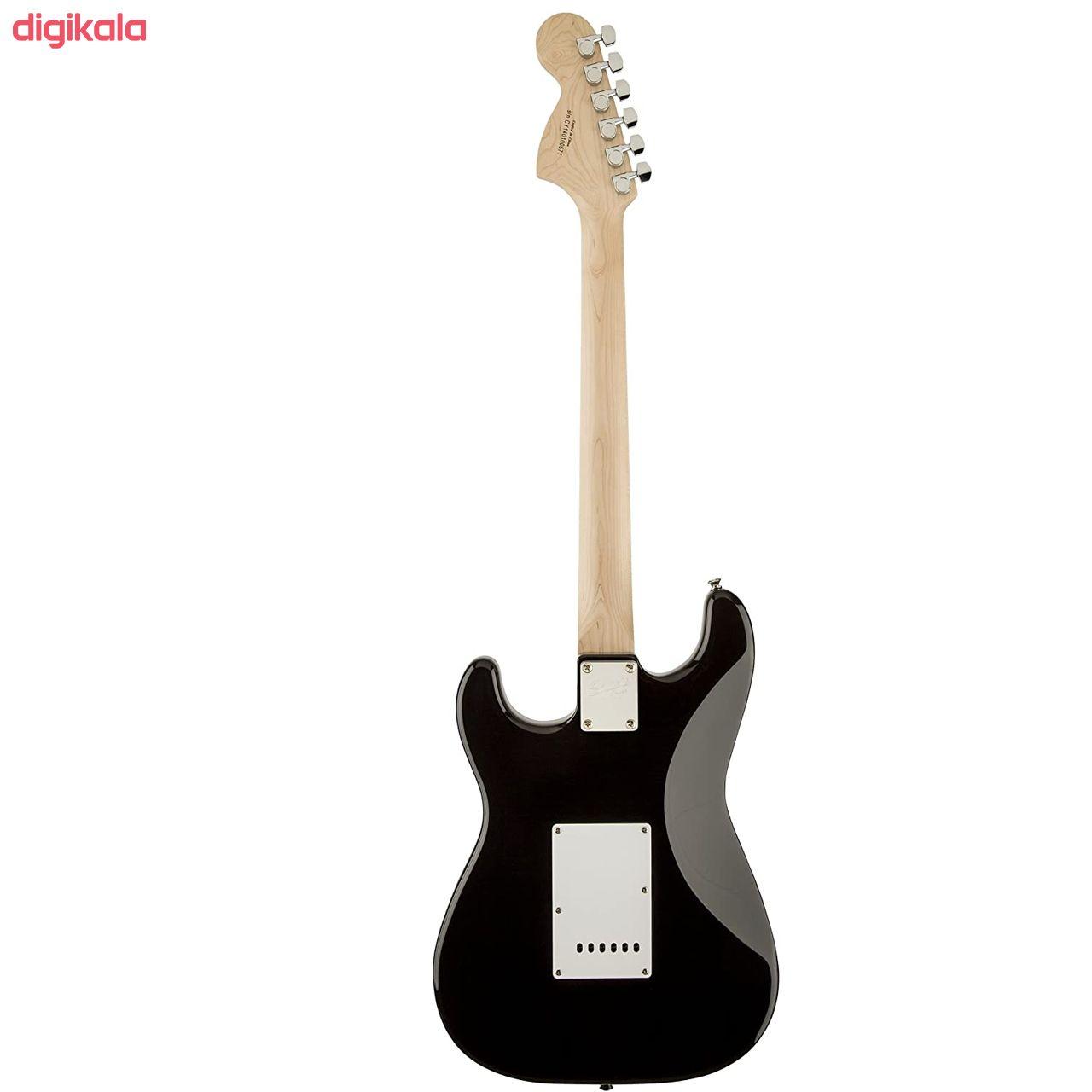 گیتار الکتریک فندر مدل SQ Strat MN Black main 1 1