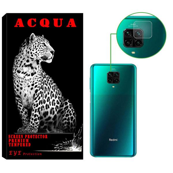 محافظ لنز دوربین آکوا مدل LN مناسب برای گوشی موبایل شیائومی Redmi Note 9 pro