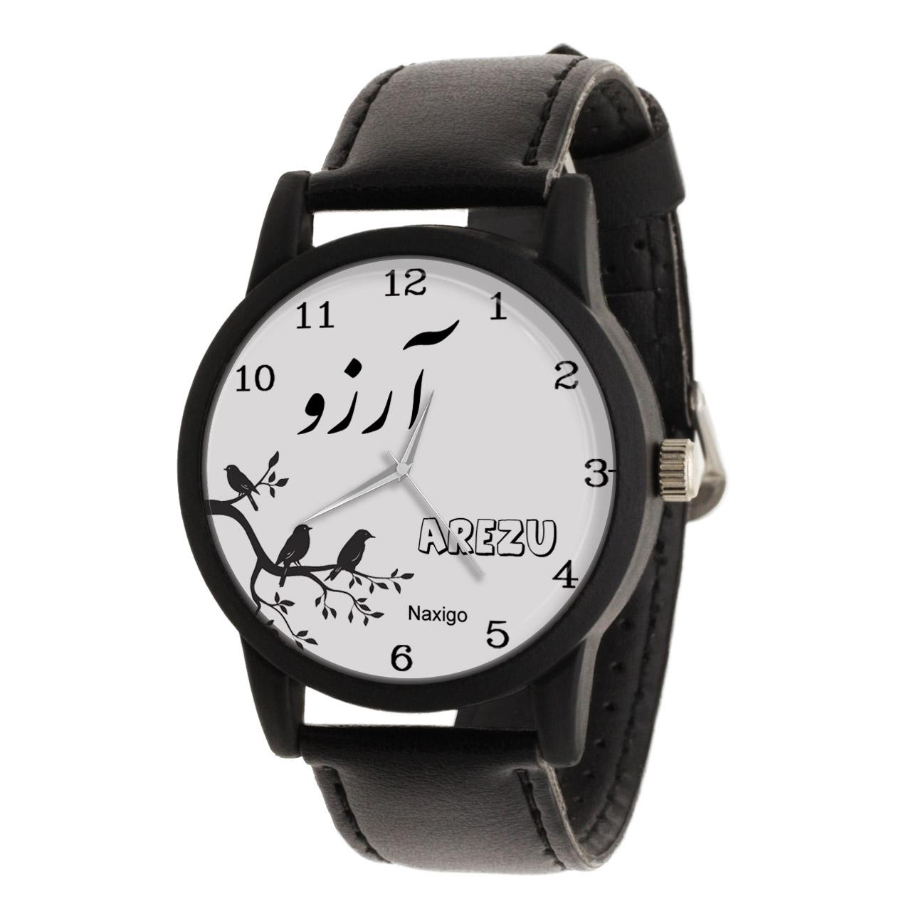 خرید و قیمت                      ساعت مچی  زنانه ناکسیگو طرح آرزو کد LF3385