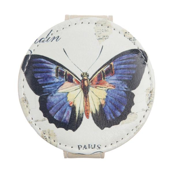 آینه جیبی طرح پروانه کد 90512