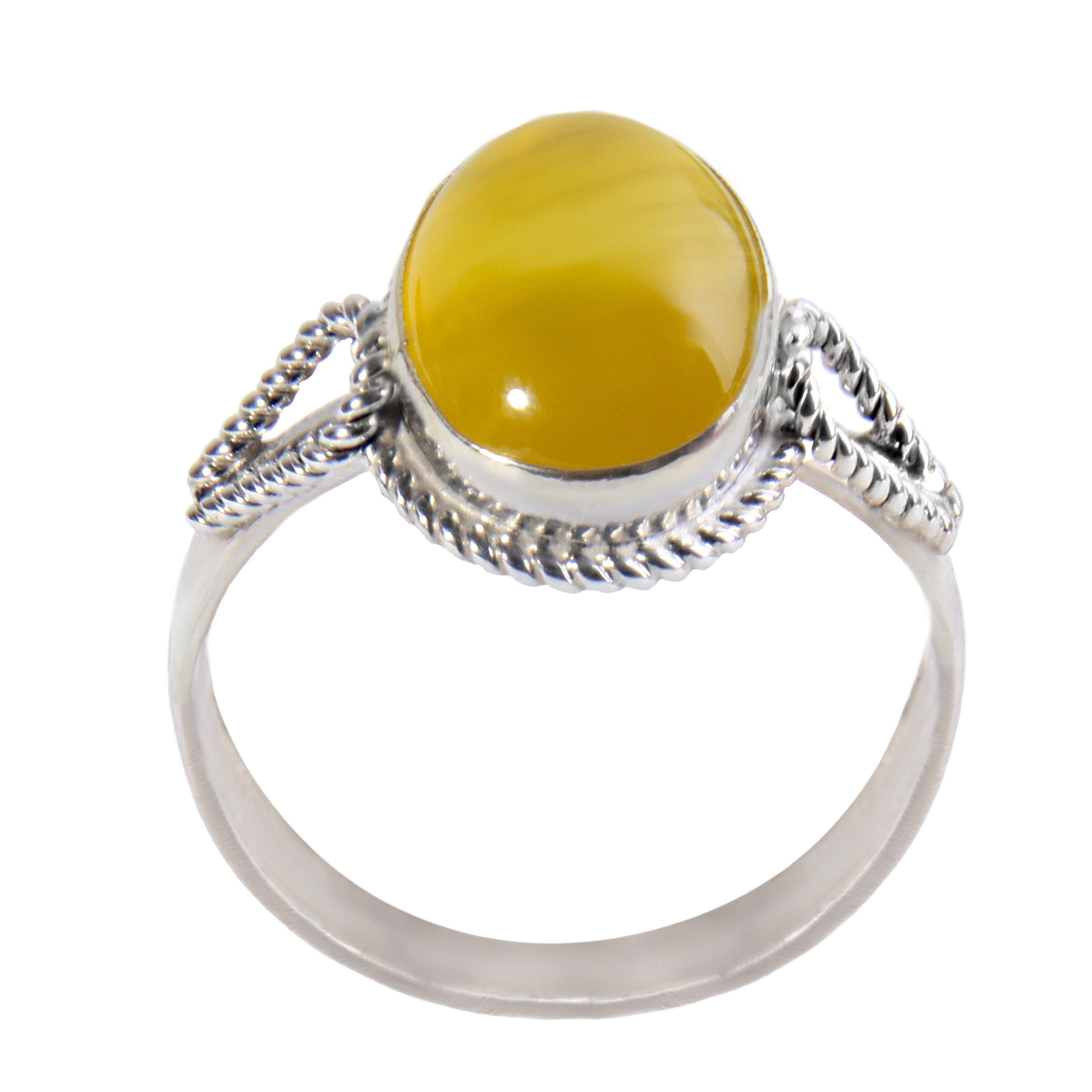 انگشتر نقره زنانه بازرگانی میلادی کد AW-025