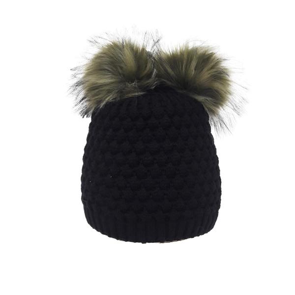 کلاه بافتنی دخترانه تولیدی منوچهری کد g986