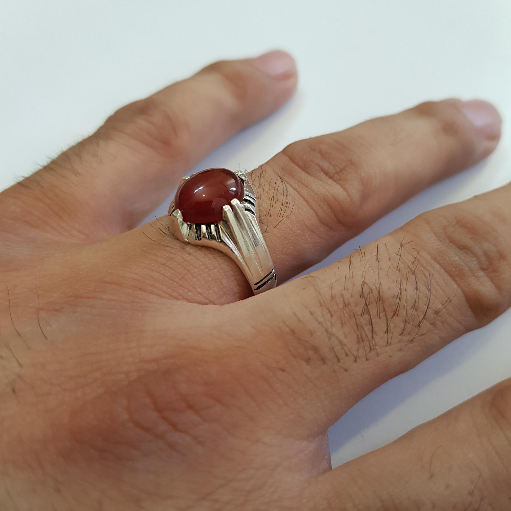 انگشتر نقره مردانه سلین کالا مدل ce-gha-an22