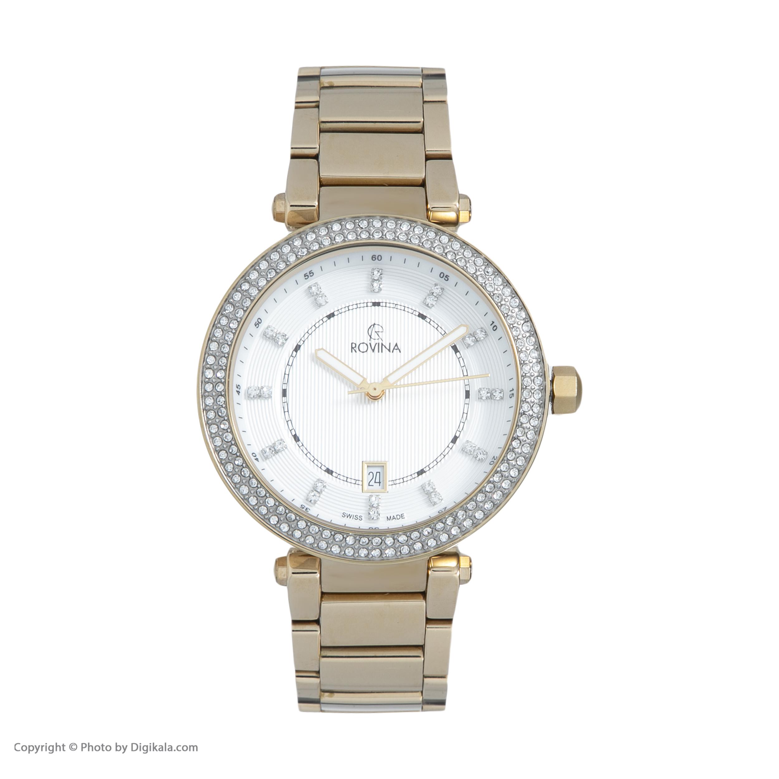 خرید و قیمت                      ساعت مچی  زنانه روینا مدل 52169-L3BW