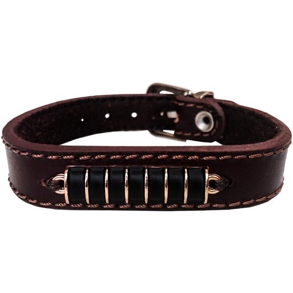 دستبند چرم وارک مدل آترابان کد rb233