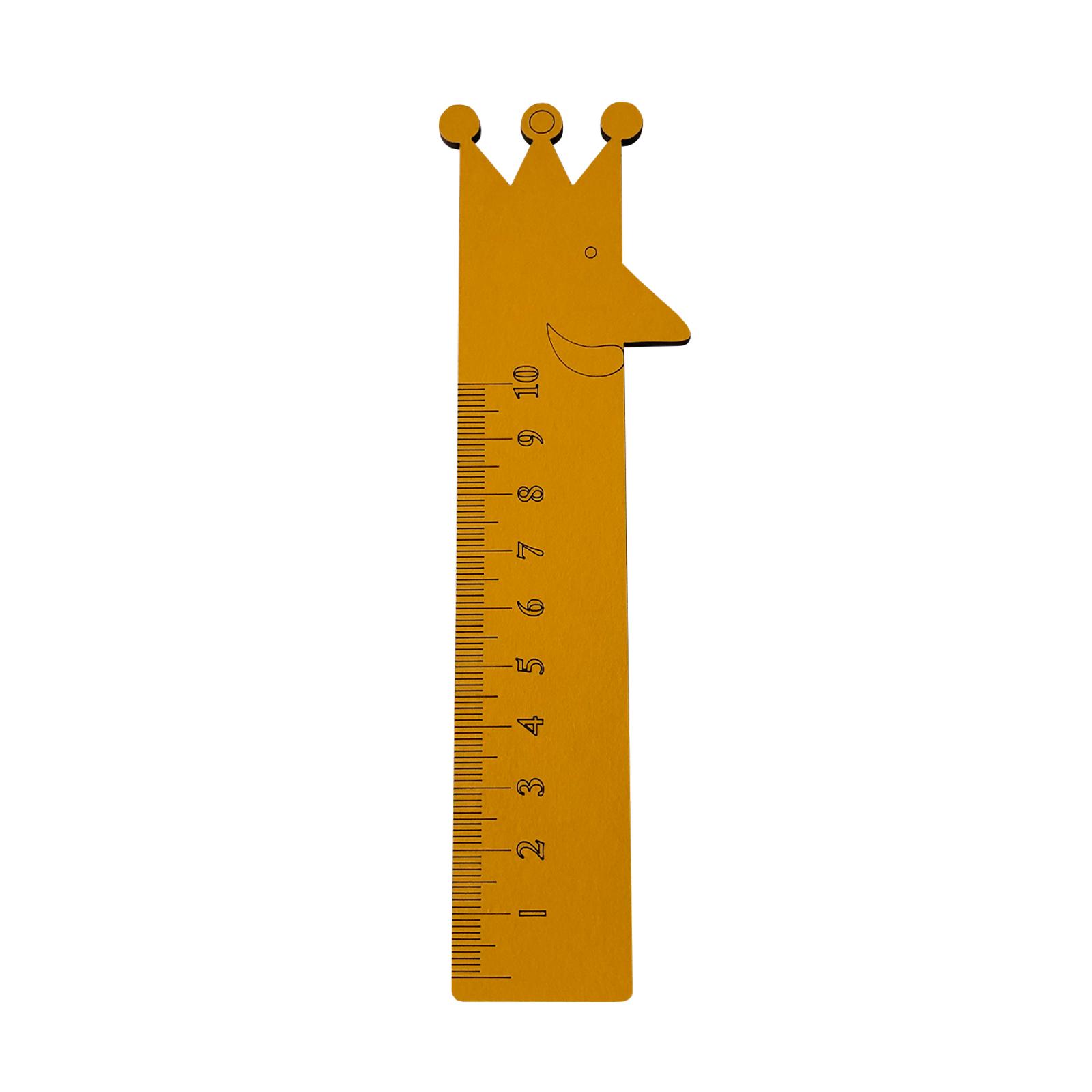 خط کش 10 سانتی متری طرح پادشاه کد kh7