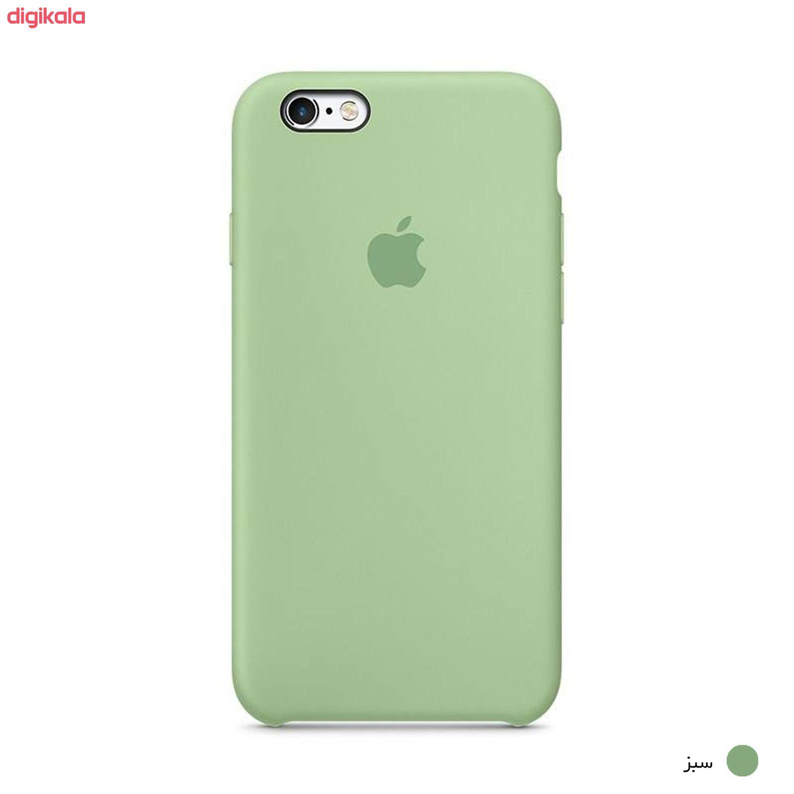 کاور سیلیکونی مناسب برای گوشی موبایل آیفون 6 پلاس/6s پلاس main 1 24