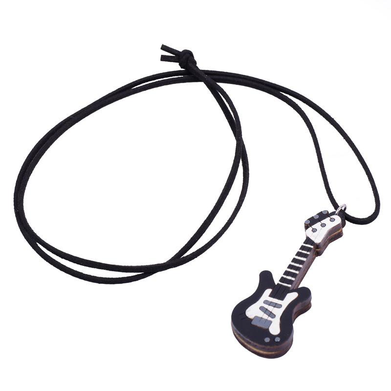 گردنبند طرح گیتار کد 207