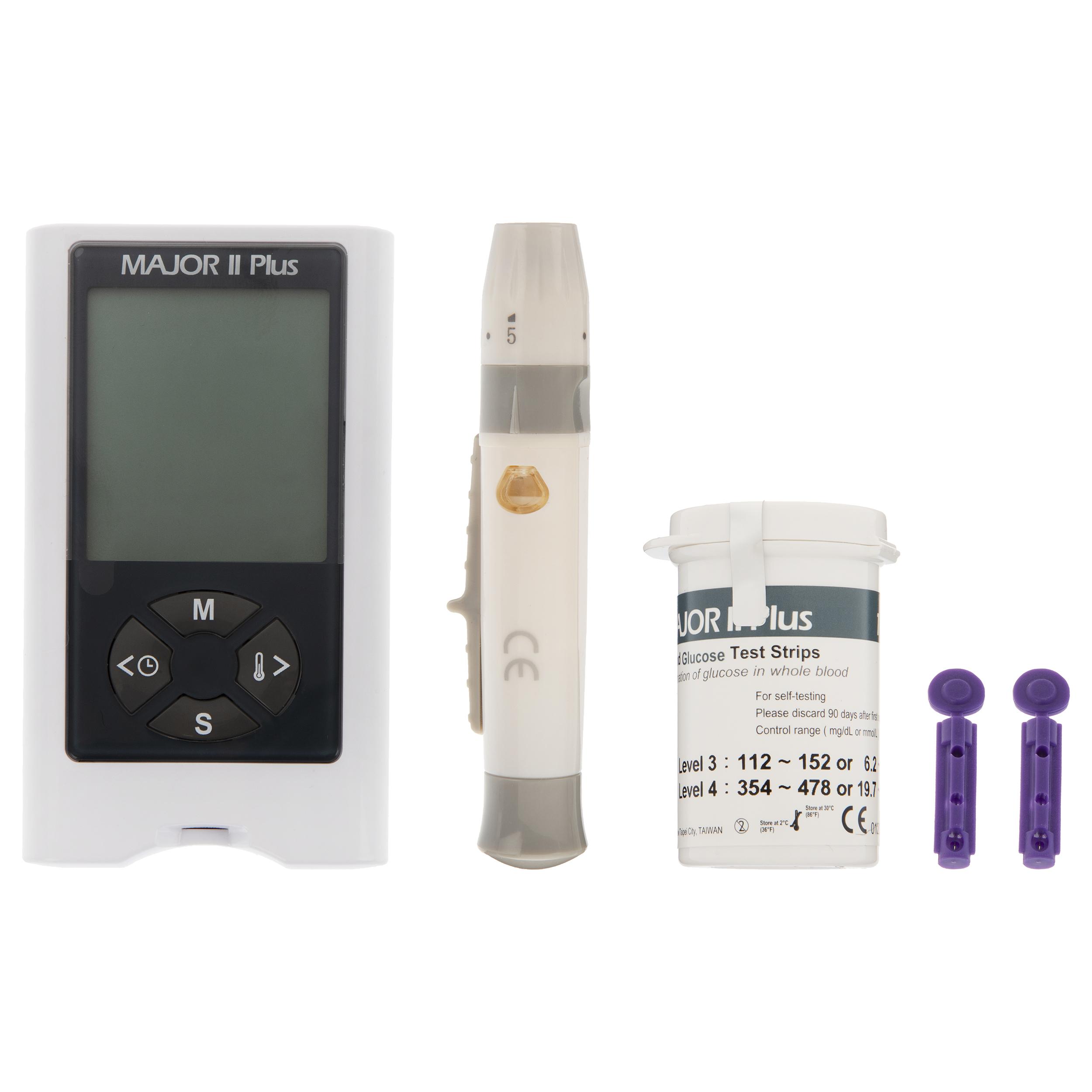 دستگاه تست قند خون ماژور ۲ پلاس مدل 05