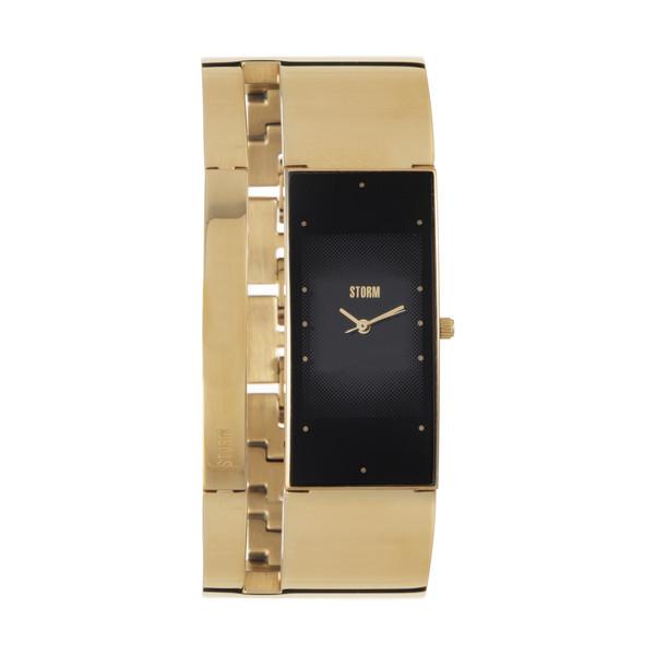 ساعت مچی عقربه ای زنانه استورم مدل ST 47343-GD