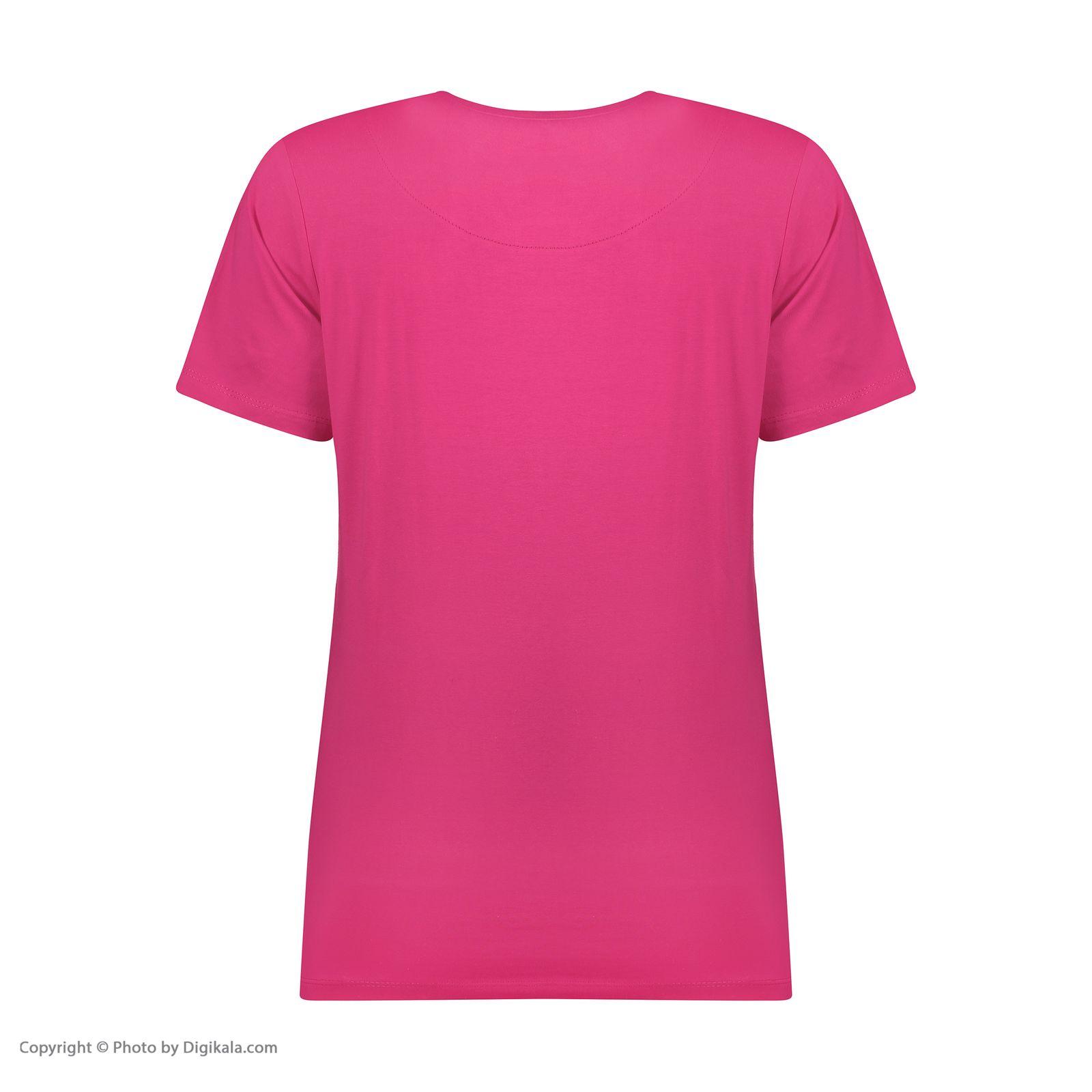 ست تی شرت و شلوارک راحتی زنانه مادر مدل 2041101-66 -  - 6