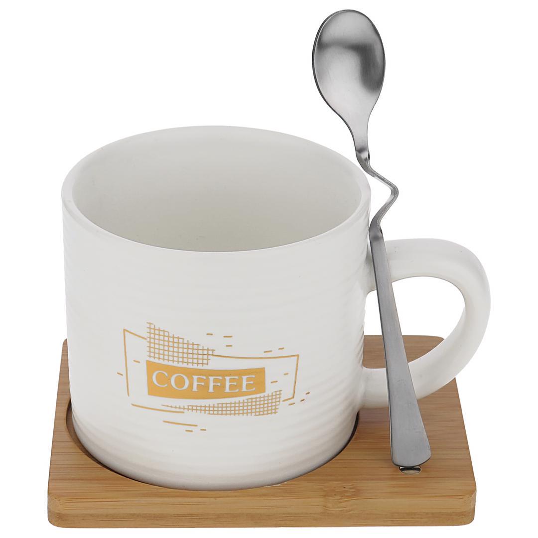 ماگ مدل fresh cup به همراه زیر لیوانی