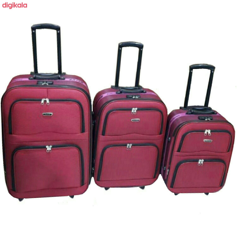 مجموعه دو عددی چمدان سفیر مدل t2420 main 1 7