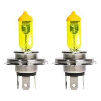 لامپ هالوژن خودرو مدل h4 بسته دو عددی