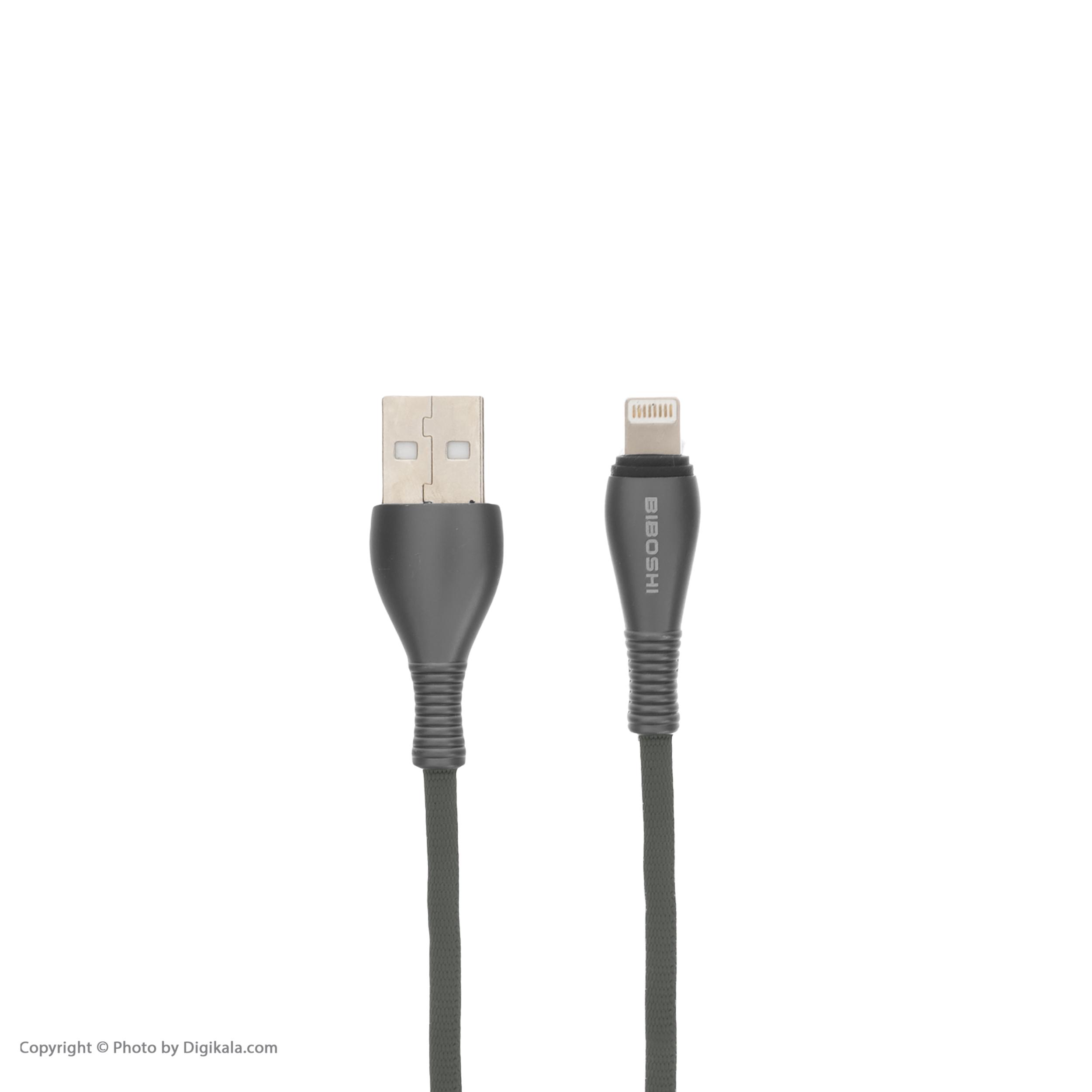 کابل تبدیل USB به لایتنینگ بییوشی مدل A05 طول 1 متر