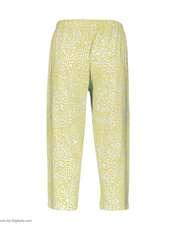 ست تاپ و شلوارک زنانه طرح بیوتی کد 0227 رنگ زرد -  - 5