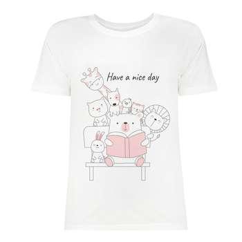 تی شرت زنانه کد SK0004-103