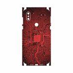 برچسب پوششی ماهوت مدل Red Printed Circuit Board-FullSkin مناسب برای گوشی موبایل شیائومی Mi Mix 3