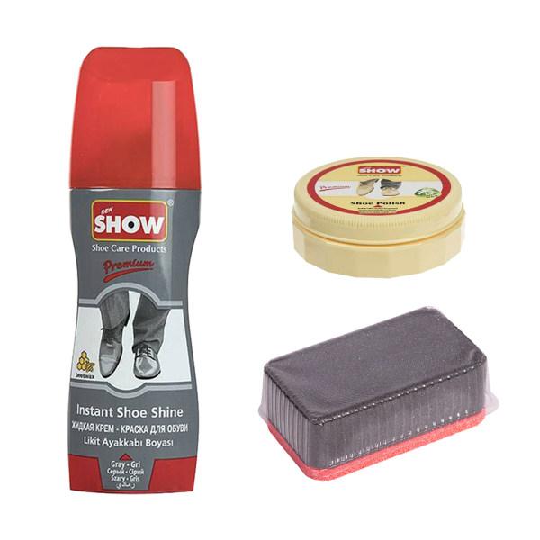 مجموعه تمیز کننده کفش شو مدل 02