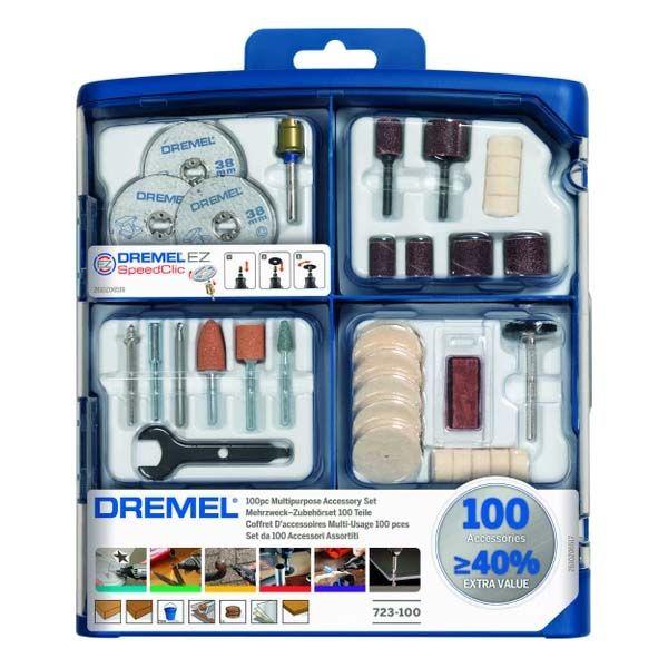 مجموعه 100 عددی ابزار حکاکی درمل مدل 723-100