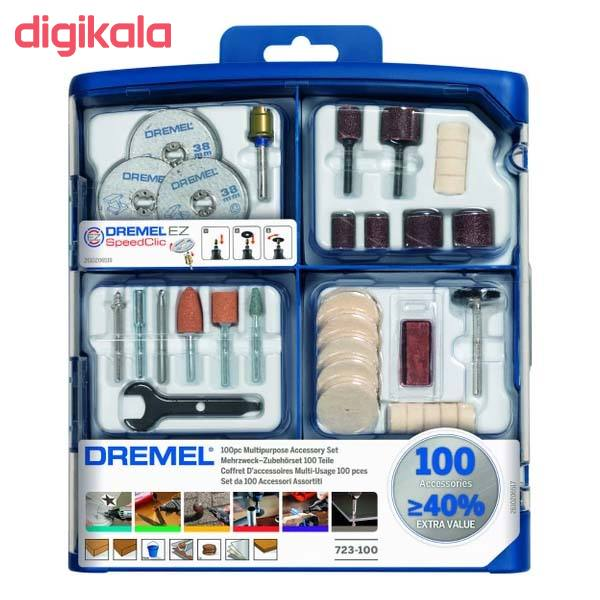 مجموعه 100 عددی ابزار حکاکی درمل مدل 723-100 main 1 1