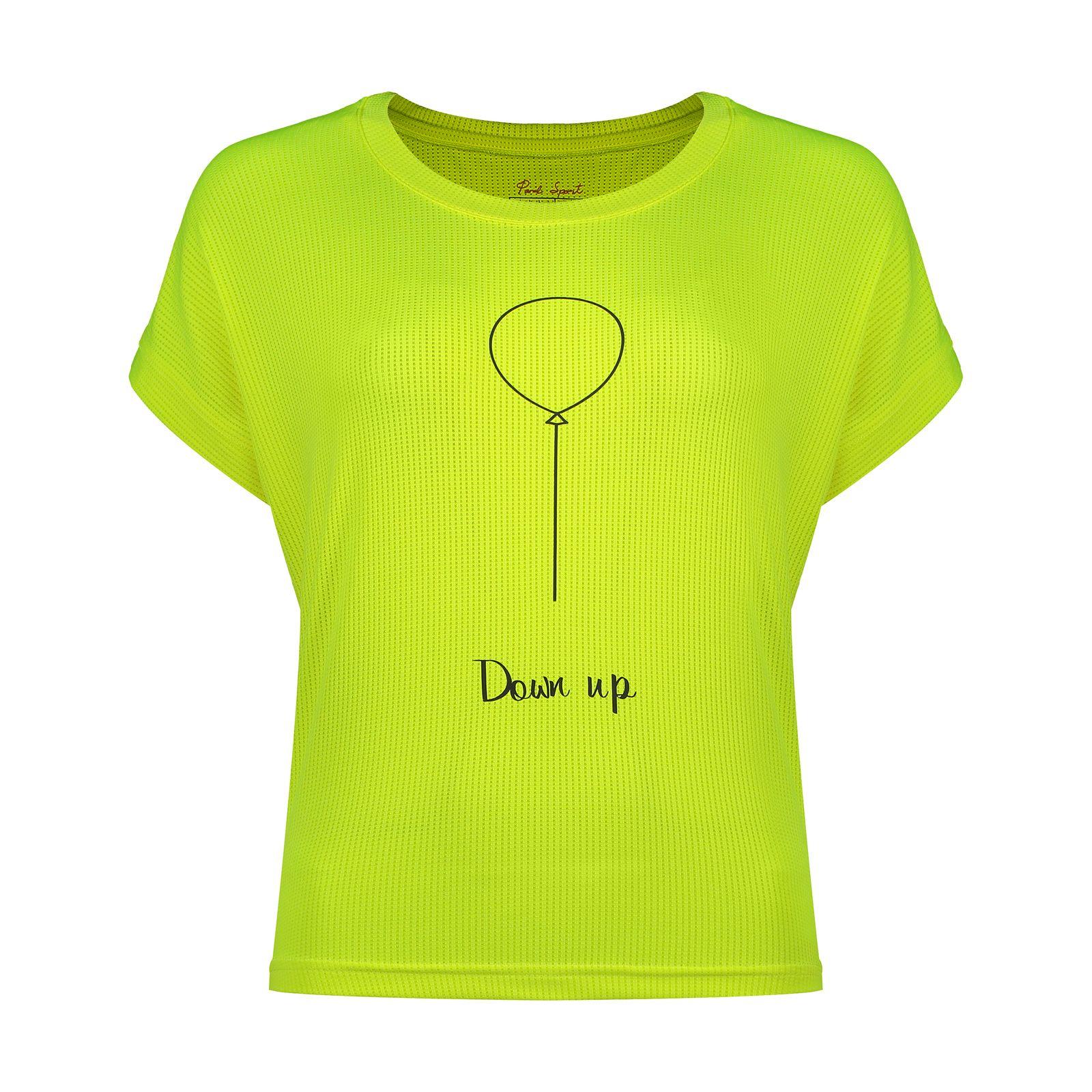 تی شرت  ورزشی زنانه پانیل مدل 180Y -  - 2