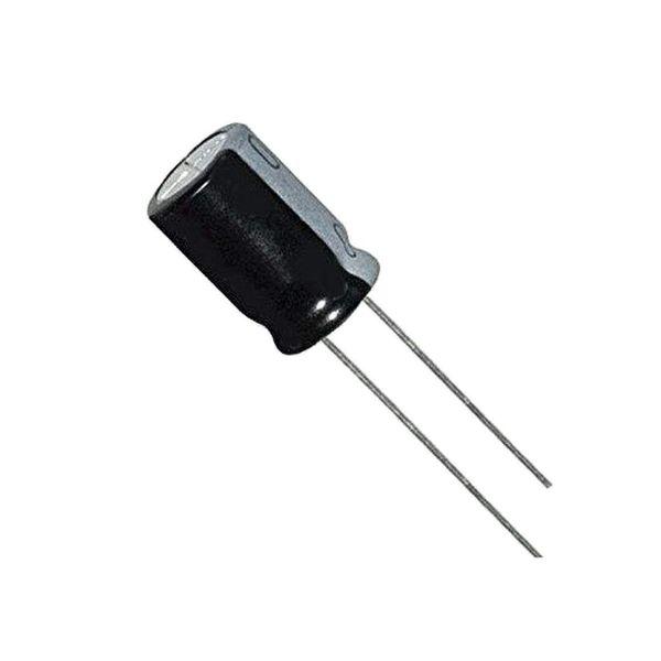 خازن الکترولیت 100 میکروفاراد مدل 10V بسته 5 عددی
