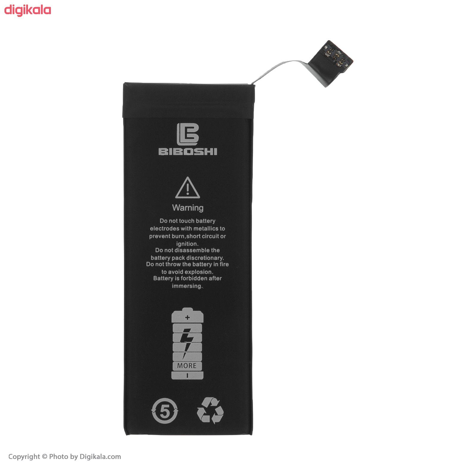 باتری موبایل بیبوشی مدل BA-iPS5 ظرفیت 1560 میلی آمپر ساعت مناسب برای گوشی موبایل اپل iPhone 5S main 1 1