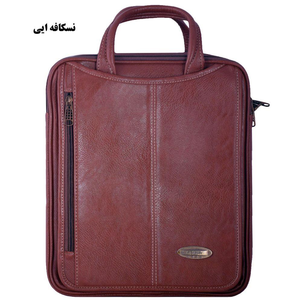 کیف دستی چرم ما مدل SM-12 -  - 9