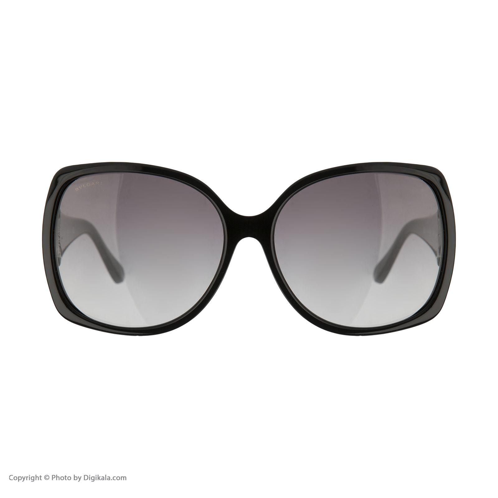 عینک آفتابی زنانه بولگاری مدل BV8078S 90111 -  - 3