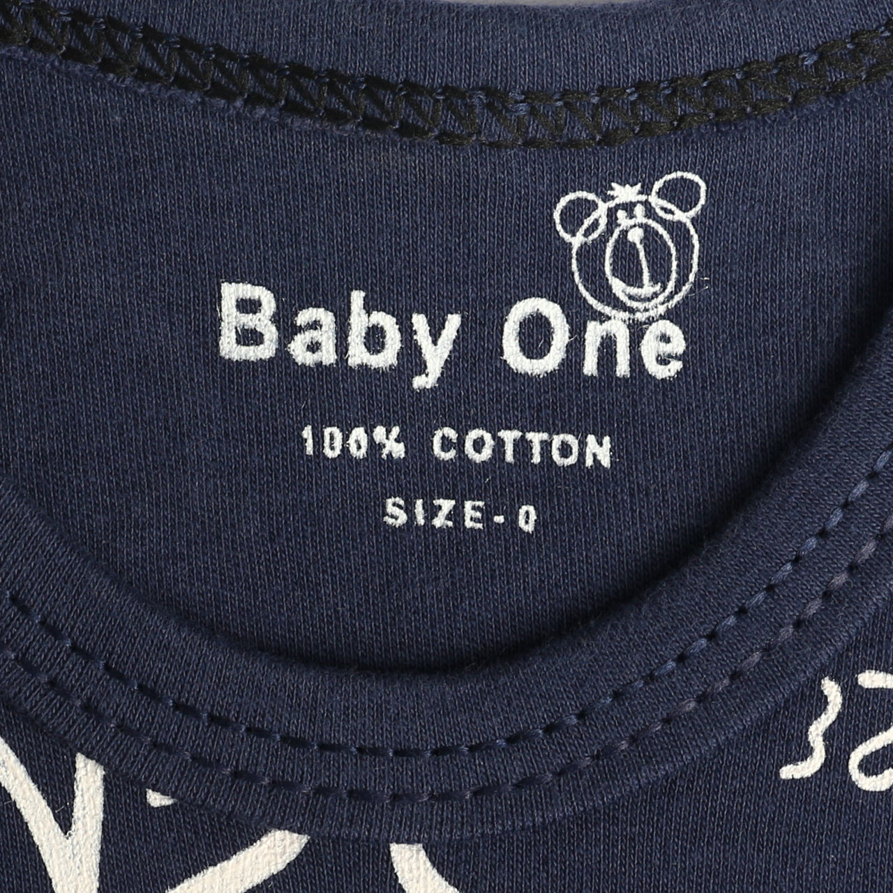 ست بادی و شلوار نوزاد بی بی وان مدل موش کد 17 -  - 7