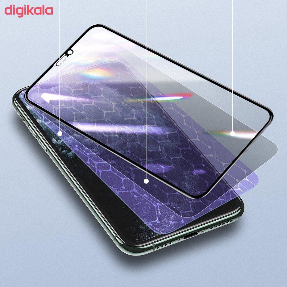 محافظ صفحه نمایش باسئوس مدل SGAPIPH65S-HC01 مناسب برای گوشی موبایل اپل Iphone XS Max/11 Pro Max  main 1 4
