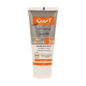 کرم ضد آفتاب آقایان آردن SPF30 وزن 60 گرم