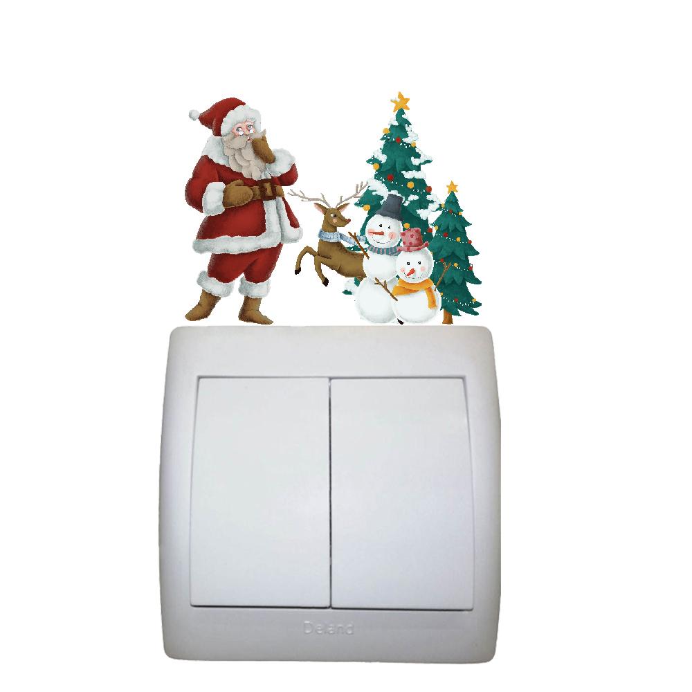 استیکر فراگراف کودک FG طرح بابانوئل کد016