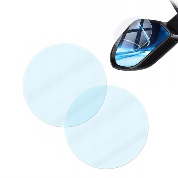 برچسب و محافظ ضد آب شیشه آینه خودرو باسئوس مدل SGFY-B بسته 2 عددی