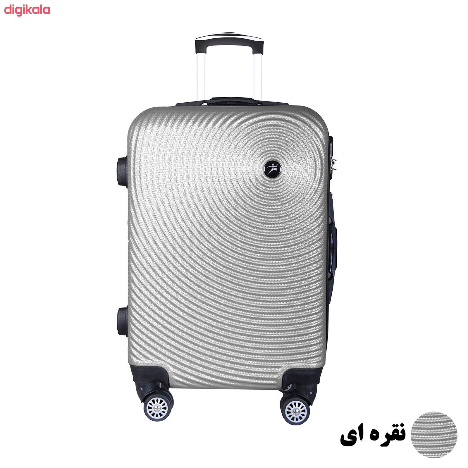 مجموعه چهار عددی چمدان اسپرت من مدل NS001 main 1 8