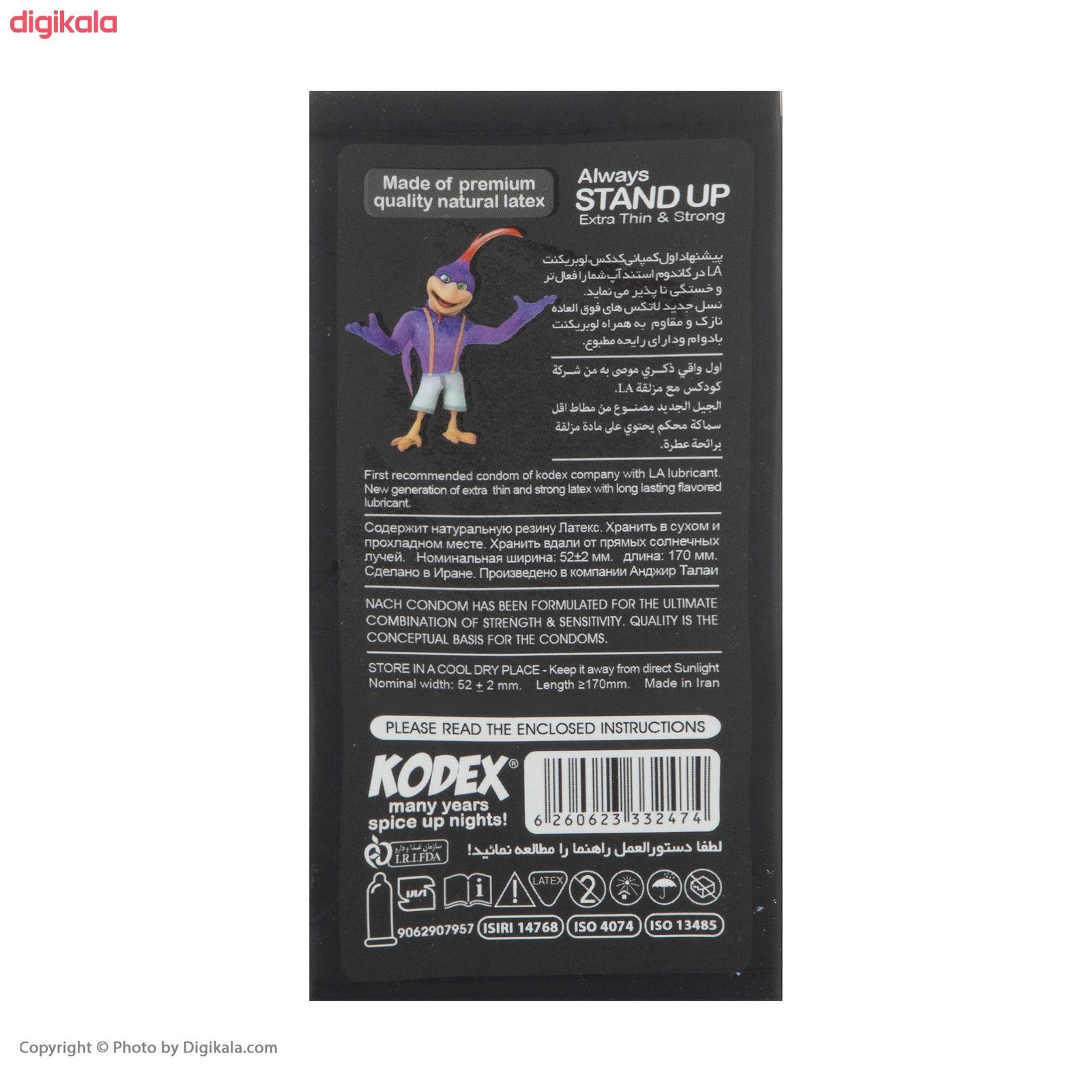 کاندوم کدکس مدل Stand Up Classic بسته 12 عددی main 1 2
