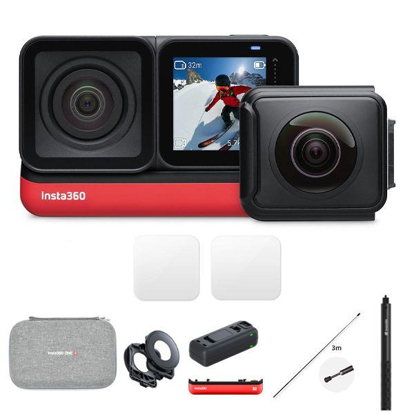 دوربین فیلم برداری ورزشی اینستا 360 مدل TWIN EDITION به همراه لوازم جانبی